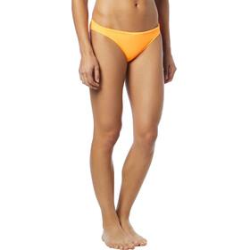 TYR Solid Mini Slip del bikini Mujer, fluo orange